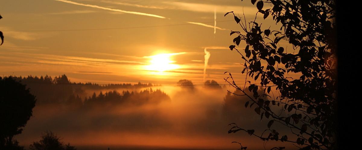 Sonnenauf- und untergänge erleben